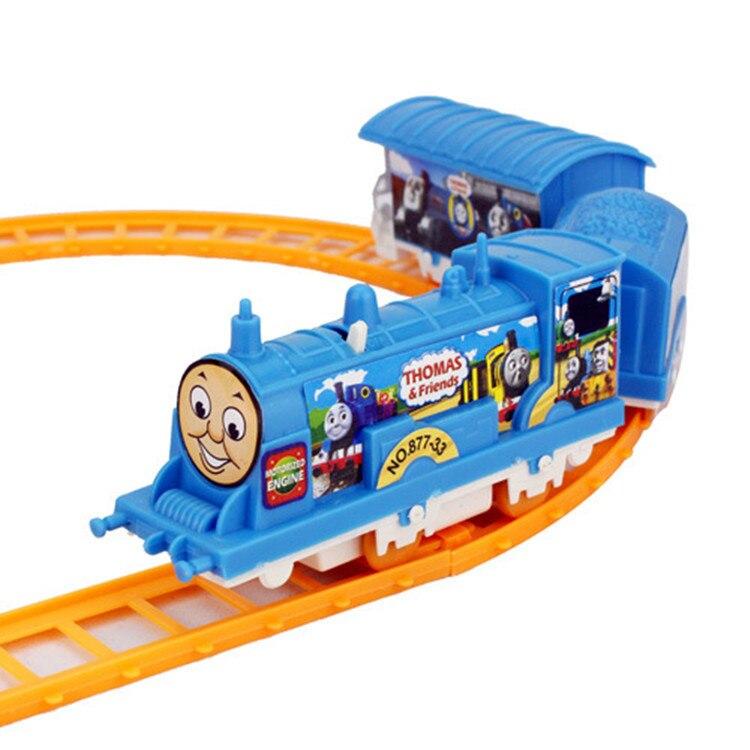 on sale electric small train children train toy pathway rail car for kids tru boy models