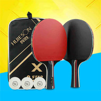 Professional 3 Star Rubber Table Tennis Racket Set Ping Pong Penholder Pingpong Racket Paddle With Tennis