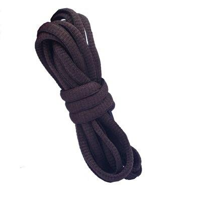 """180 см/7"""" длинный овальный плоской подошве Кружево Шнурки обуви Кружево F. спортивная обувь 24 Цвета для выбора нового - Цвет: No 24 dark brown"""