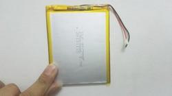 A Nova Bateria Li-ion de 3500 mAH da bateria do Tablet pc Para 7,8, polegada tablet PC ICOO 9 3.7 V Bateria lithiumion Polímero Com Alta Qualidade