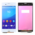"5.2"" For Sony Xperia Z3 D6603 D6643 D6653 L55t LCD Display + Touch Screen with Digitizer Assembly , White Free Shipping"
