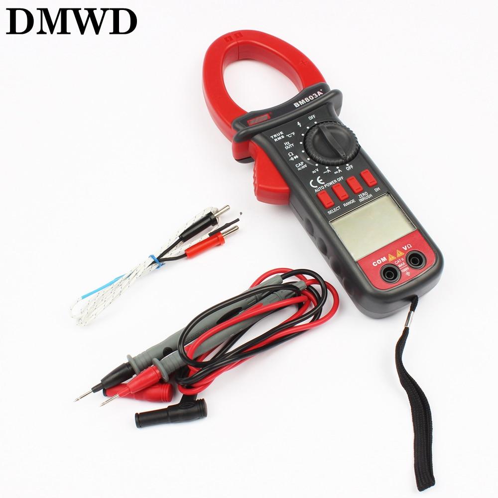 купить BM803A BM803 Digital AC-DC 1000A Clamp Meter digital multimeter 1000V Temperature 1000 по цене 3935.7 рублей