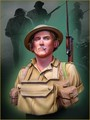 Free Shipping 1/10 Scale Resin Bust British Soldier Battle of EL ALAME
