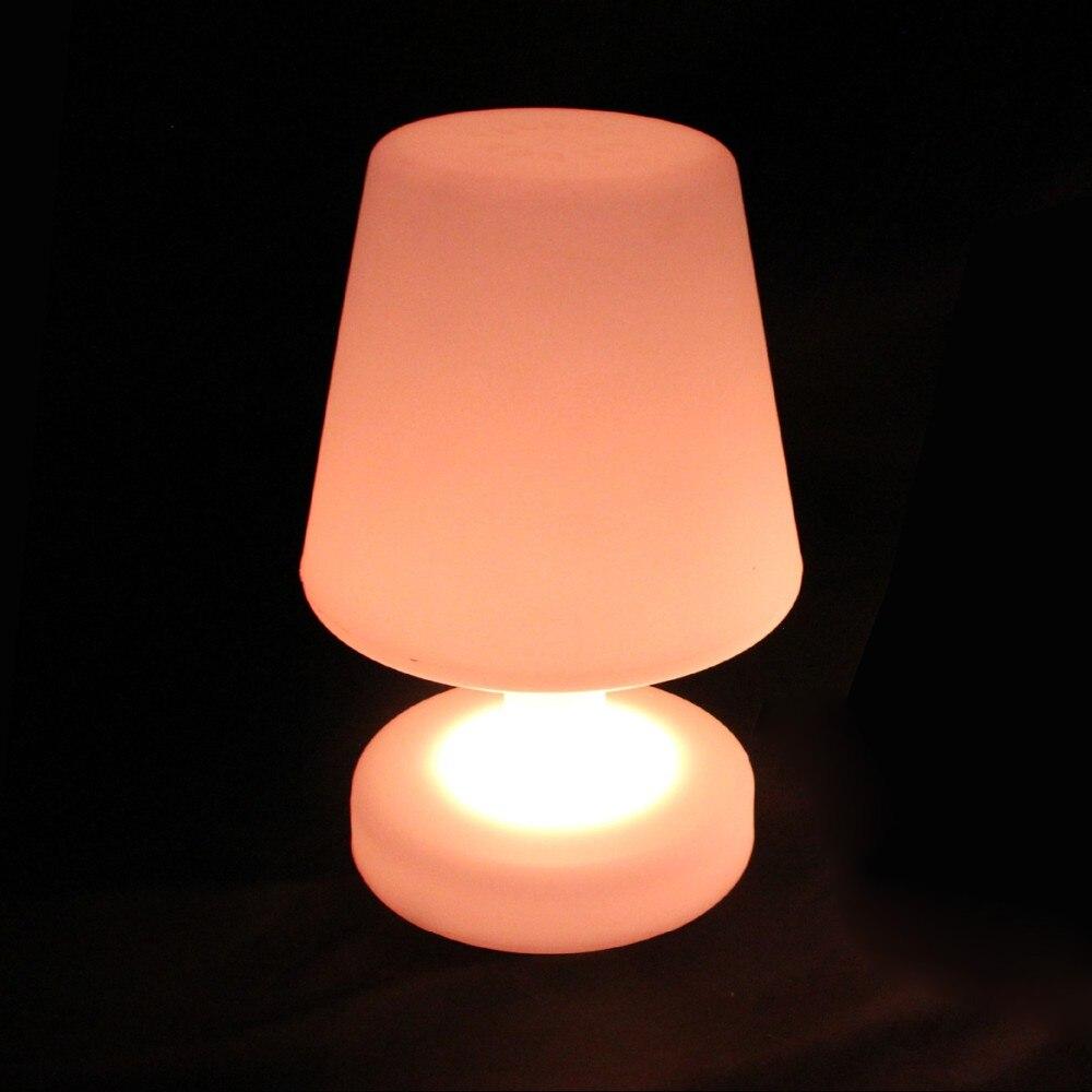 Symbool Van Het Merk D17 * H25.5cm Oplaadbare Restaurant Led Tafellamp Slaapkamer Verlichting Night Lights Voor Kerstmis Decoratie Gratis Verzending 10 Stks/partij Uitgebreide Selectie;