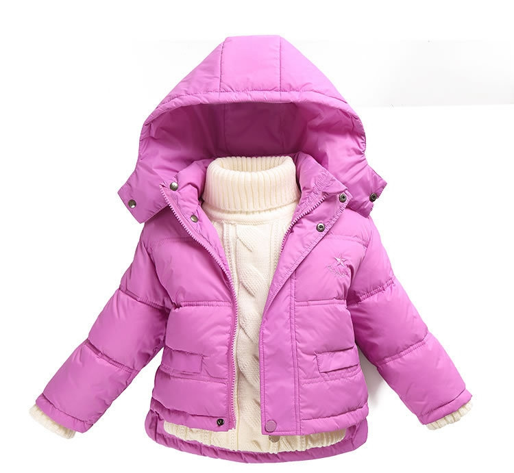 Fashion 80% Eiderdown Baby Girl Winter Coat Newborn Snowsuit For Baby Boys Duck Down Outerwear Clothes For Children Jackets (8)