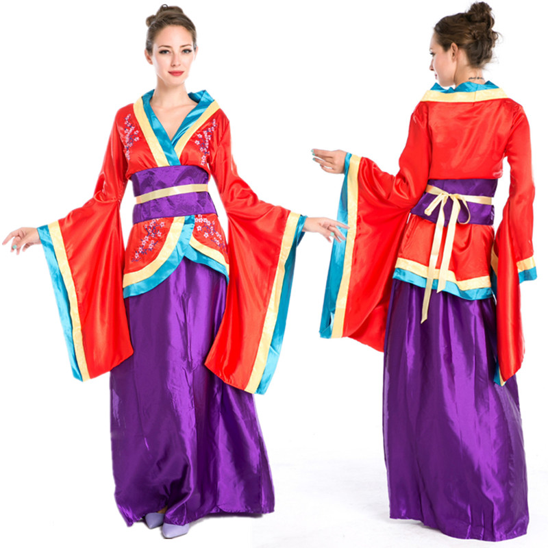 Sexy Rayon Floral Japanese Kimono Vintage Yukata Haori Costume Retro Geisha Dress Obi Cosplay Gown Cosply Costume Dress Outfit