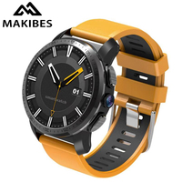 Makibes M3 4G Men's Smart Watch Phone Android 7.1 With 5MP Camera GPS 800Mah Battery Answer calls SIM TF card Bluetooth Watches