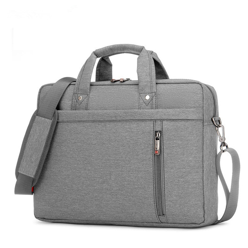 Image 4 - Waterproof Computer Laptop Bags Notebook Tablet Case Messenger Shoulder Bag for Men/Women 13 14 15 17 Inches