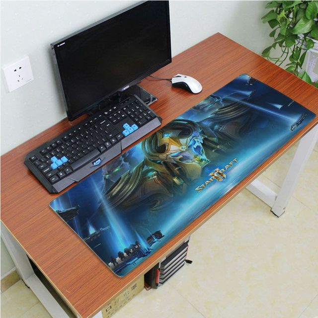 Yinuoda Beautiful Anime Starcraft Rubber Mouse Durable Desktop Mousepad Size for 180*220 200*250 250*290 300*600 and 400*900*2mm 2