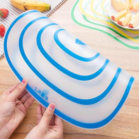 1 pcs Cepo Plástico Placa De Corte Da Cozinha Flexível Placa De Ensaio Não-slip Fosco Antibacteria Bloco De Corte