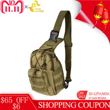 Free Knight 600D Molle Military Backpack Army Tactical Shoulder Bag Camping Hiking Camouflage Bag Utility Trekking Hunting Bag