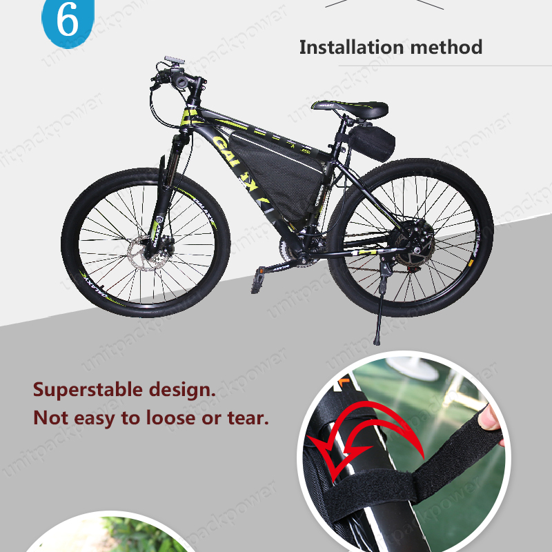US EU AU No Tax Electric Bicycle 52V 20Ah Lithium ion Battery 1000W E BIKE  Triangle Battery Pack 14S Bateria + 4A Fast Charger