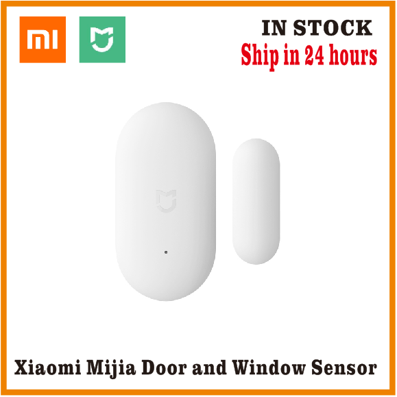 Original Xiaomi Door Window Sensor Pocket Size Xiaomi Smart Home Kits Alarm System work with Gateway mijia mi home app(China)