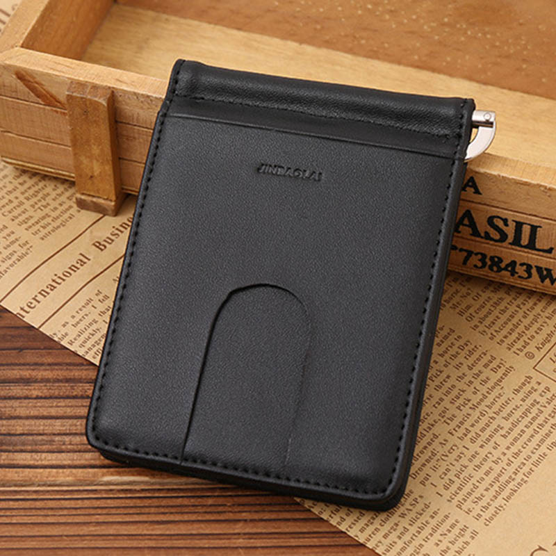 2017 Fashion Men Women Wallet Leather Money Clip Bifold ID Credit Card Purse Billfold Wallet Purse With Coin Pocket