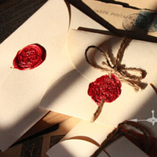 Sobres vintage de 10 uds/lote, sobres de invitación de boda, sobres, papel de carta, papelería, regalo zakka