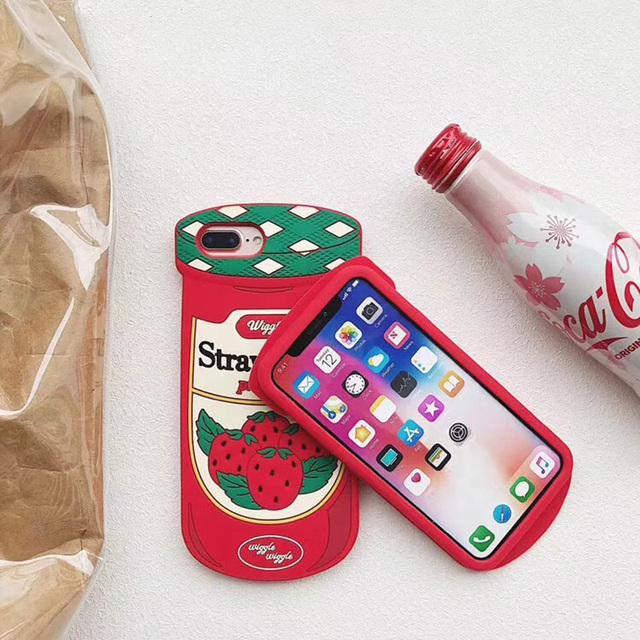 Lovely Starwberry Case for iPhone