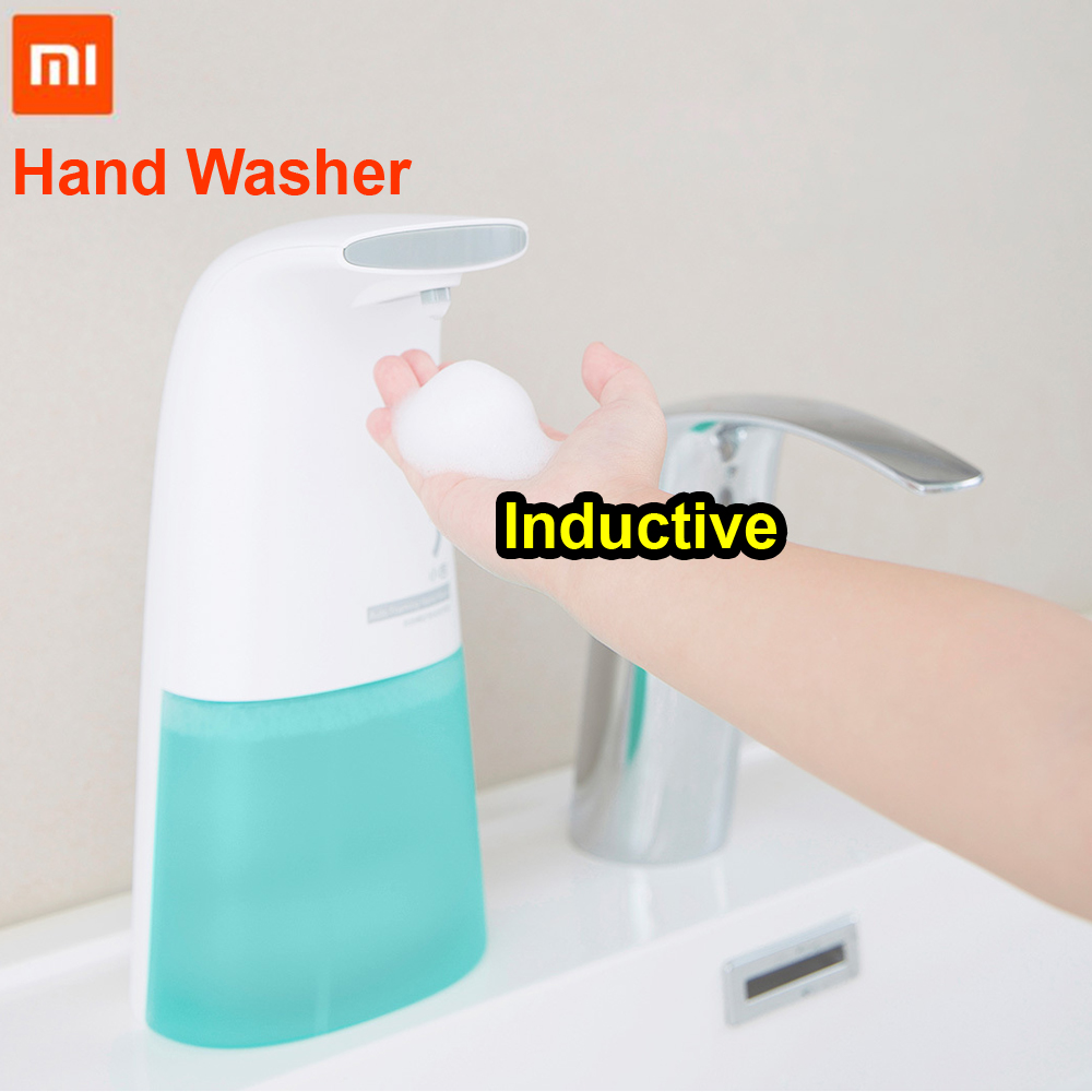 Xiaomi Mijia Auto inducción espuma mano lavadora de lavado automático de jabón 0,25 s inducción infrarroja para el bebé y la familia