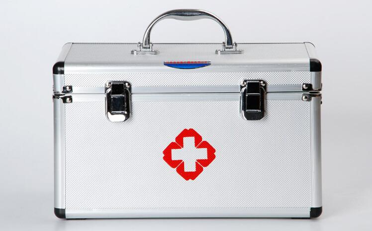 GAS54-Free Shipping Multi-layer medical visit first aid kit medicine storage box 16 inch medical kit new gbj free shipping home aluminum medical cabinet multi layer medical treatment first aid kit medicine storage portable