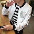 TG6156 Barato al por mayor 2016 nueva edición de han de chaquetas de béisbol juvenil marea de primavera de los hombres ropa de los estudiantes