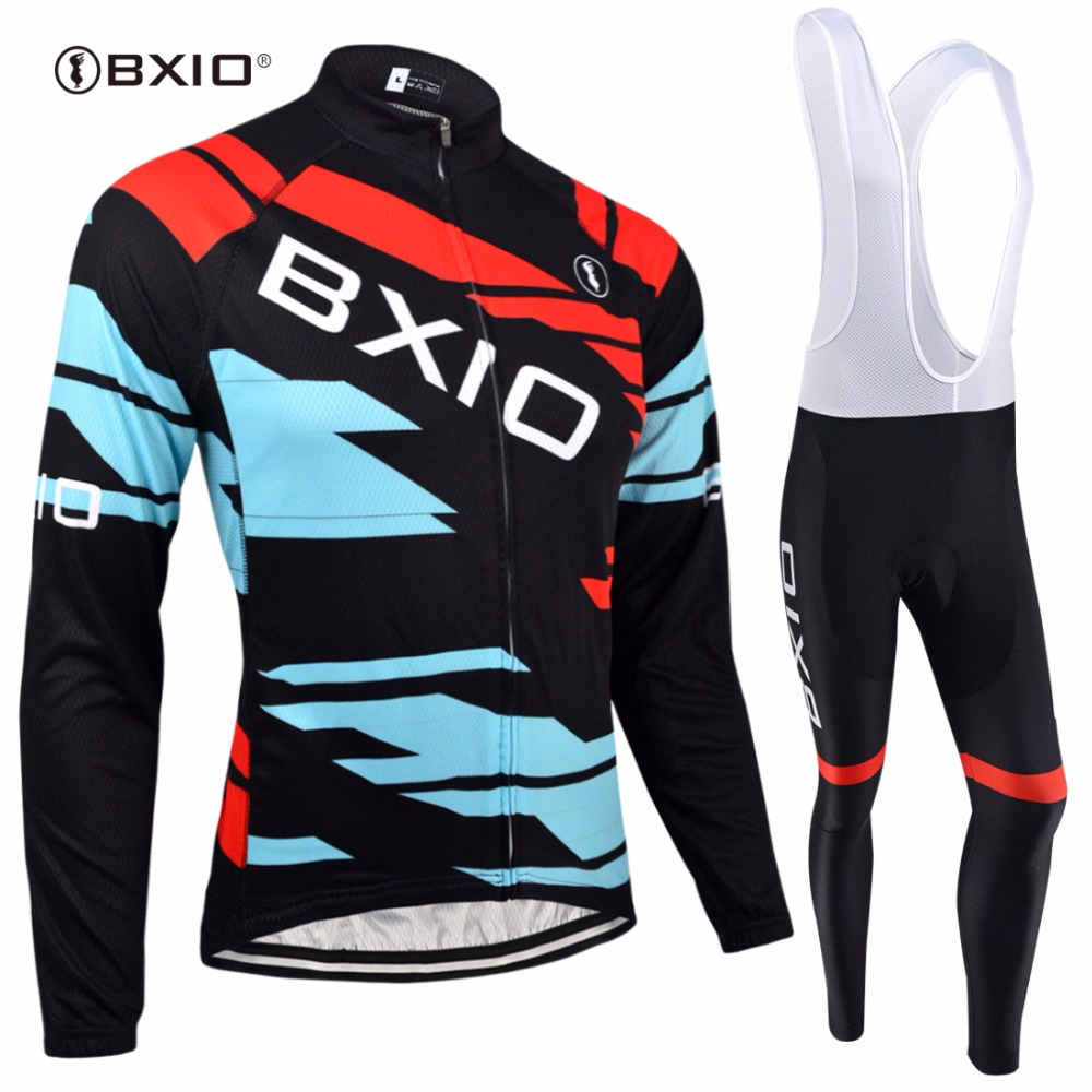 BXIO Winter Cycling Jersey Top Rate Seamless Stitching Long SleevesThermal Fleece Bicycle Clothing 5D Pad Maillot Ciclismo 134 bxio winter thermal fleece cycling jersey sets pro team long sleeve bicycle bike clothing cycling pantalones ropa ciclismo 111