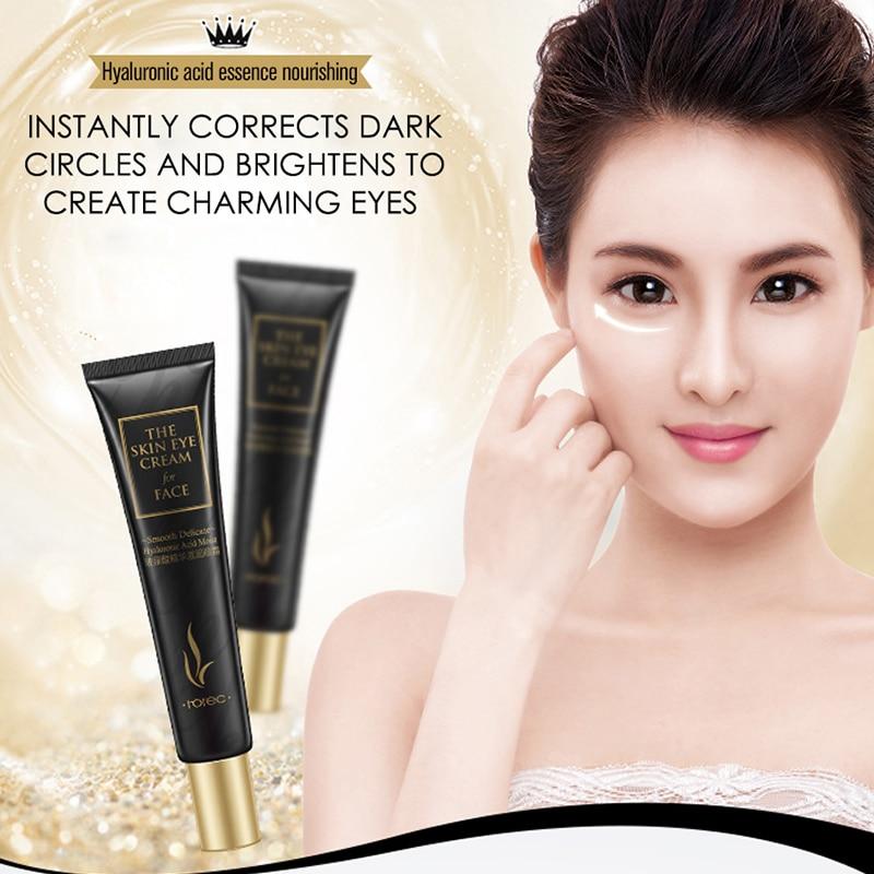 ROREC Hyaluronic Acid Anti Aging Against Puffiness Eye Serum Anti-Wrinkle Snail Collagen Remover Dark Circles Eye Cream Care 20g 5