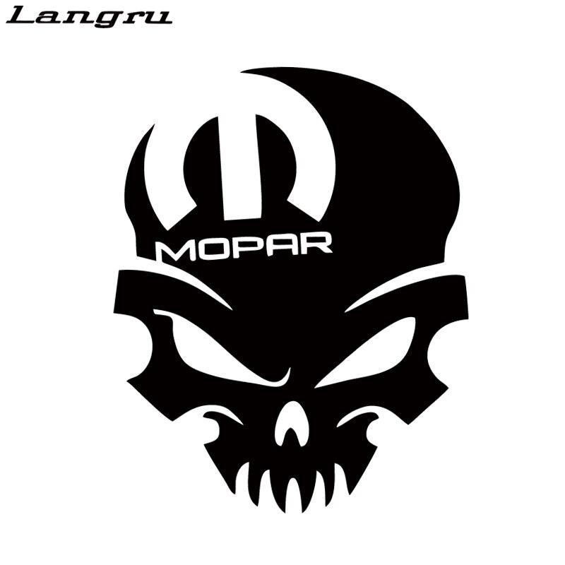 Aliexpress Com Buy Langru Hot Sale For Mopar Skull Vinyl