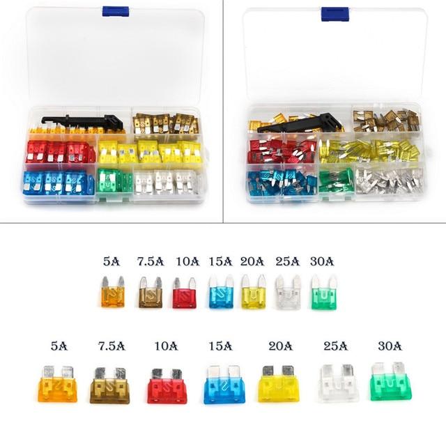 242pcs fuse blade holder box car vehicle circuit fuse box block 7 rh aliexpress com Types of Breaker Box Fuses Types of Breaker Box Fuses