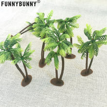 FUNNYBUNNY Palm Trees with Coconuts Cake/Cupcake Toppers - 1 pcs by Bakery Supplies(China)