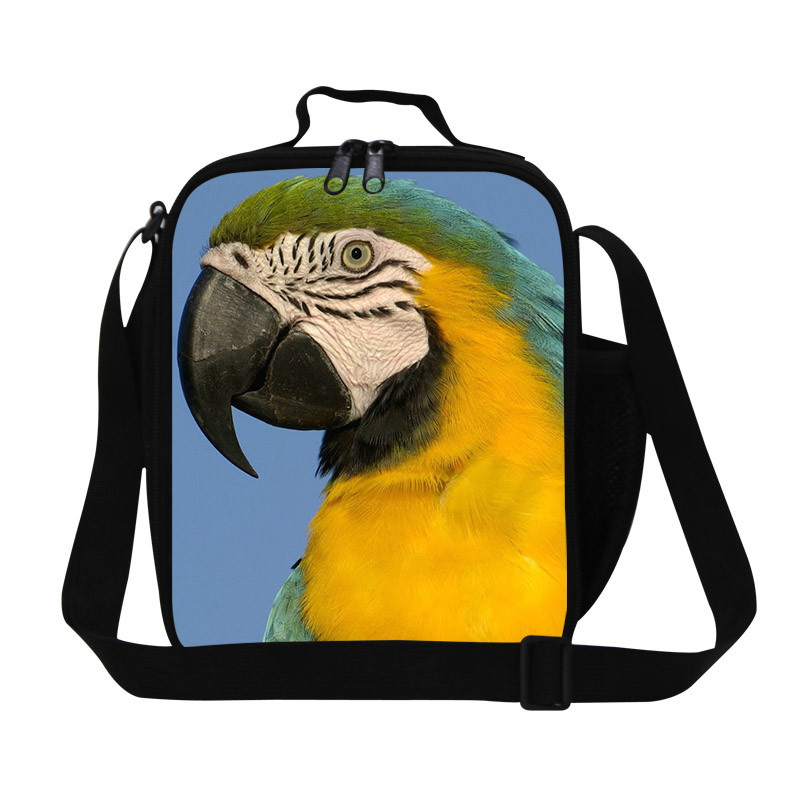 12 Cute Print zipper neoprene lunch bags Outdoor Picnic Portable meal package lunch box lunch thermal waterproof bag