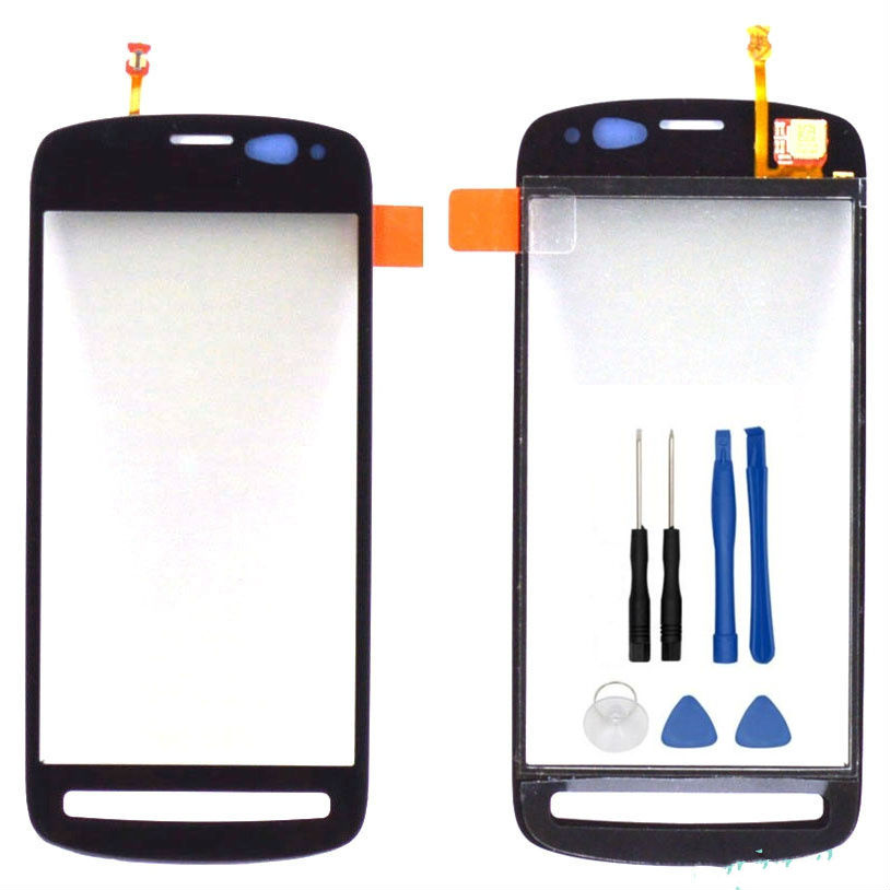 For Nokia PureView 808 Touch Screen Digitizer Sensor Front Glass Lens panel
