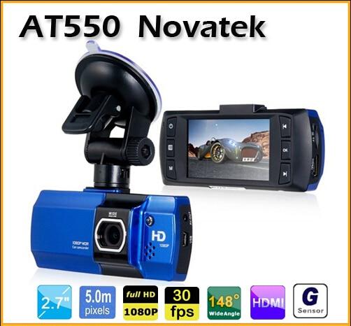 ФОТО New Arrivals AT550 FULL HD 1080P Car DVR Camera 148 Degree G-Sensor New WDR Vehicle Video Recorder Car Black box night vision