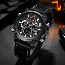 цены на Relogio Masculino Watch for Men Luxury Brand Men Watch Leather Sports Mens Digital Watches Quartz Male Clock montre homme 2019 в интернет-магазинах