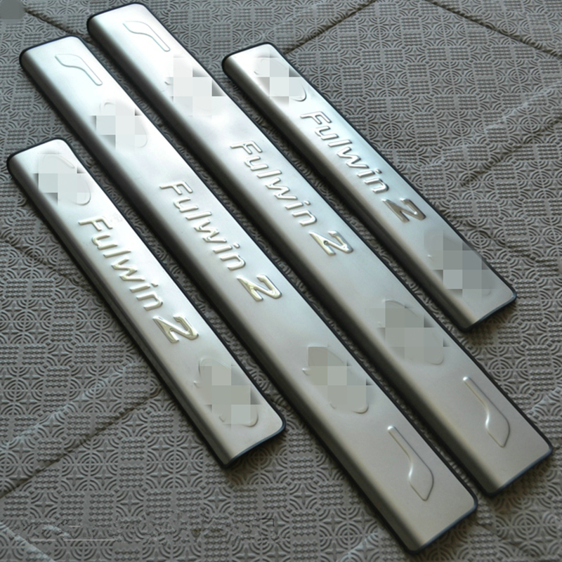 For chery fulwin2 stainless steel door sill strip exterior - Exterior door threshold replacement parts ...