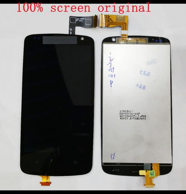 Black Color 100% High Quality For HTC Desire 500 LCD Display +Touch Screen