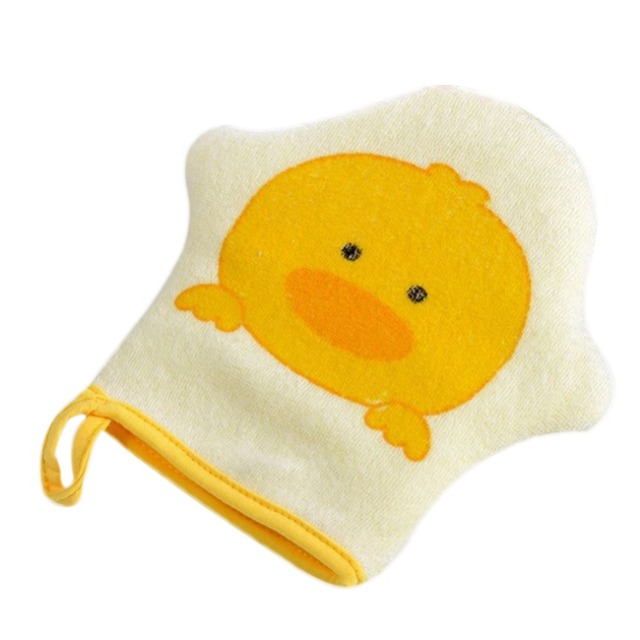 Adorable Bath Gloves for Babies with Animal Designs