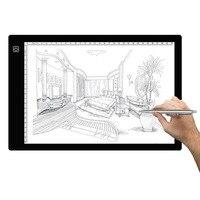 A4 LED Stencil Art Copy Painting Drawing Pad Board Table Tattoo AU Plug Painting Teaching