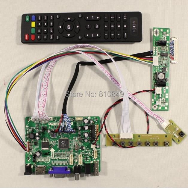 HDMI+VGA+AV+Audio+USB FPV lcd Controller board VST29.01B for 21.5inch T215HVN01.0 M215HGE-L23 LCD