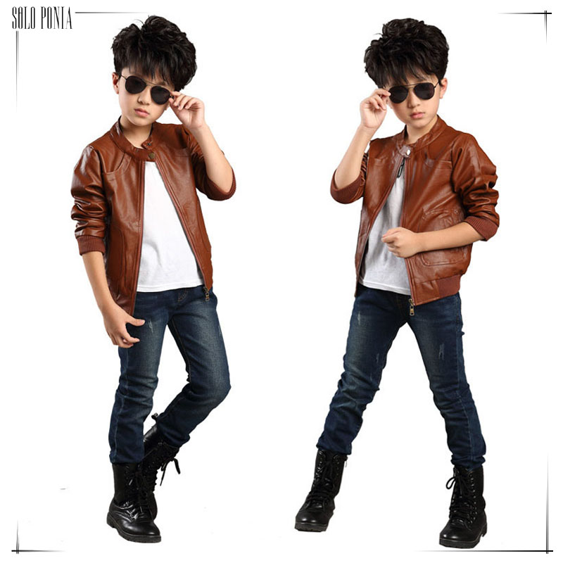 Popular Boy Kid Leather Jacket-Buy Cheap Boy Kid Leather Jacket ...