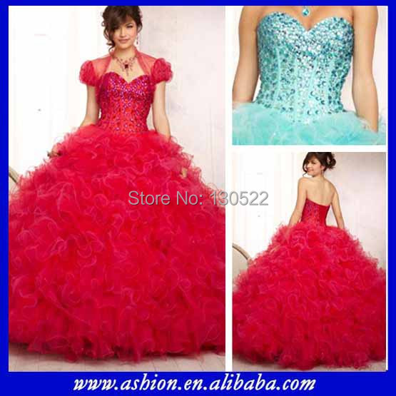 62a88b2514b Free shipping QD-192 Fancy beaded soft tulle puffy design your quinceanera  dress pattern sweetheart neckline quinceanera dress