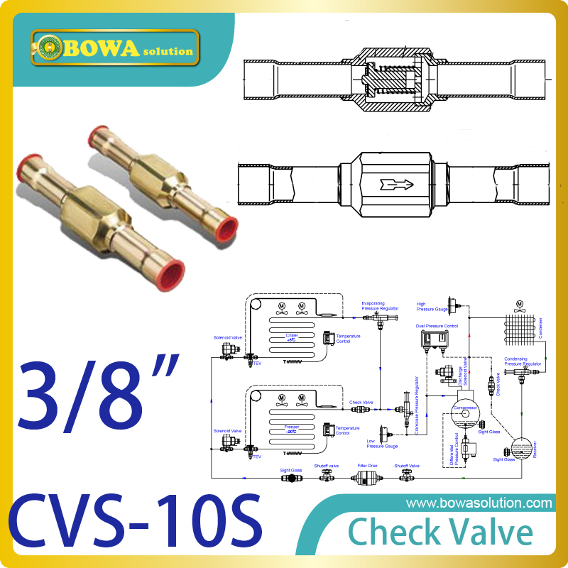 3/8 check valve with solder connection for bus  air conditioner and refrigeration truck replace Sporlan check Valve 3 8 check valve with solder connection for bus air conditioner and refrigeration truck replace sporlan check valve