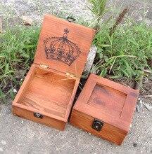 ZAKKA старинные коробка творческая коробка ювелирных изделий ящик для хранения может быть заперт дома органайзера