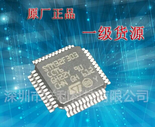 New STM32F303CCT6 STM32F303 QFP48 encapsulation ARM microcontroller-MCU кухонная мойка ukinox stm 800 600 20 6