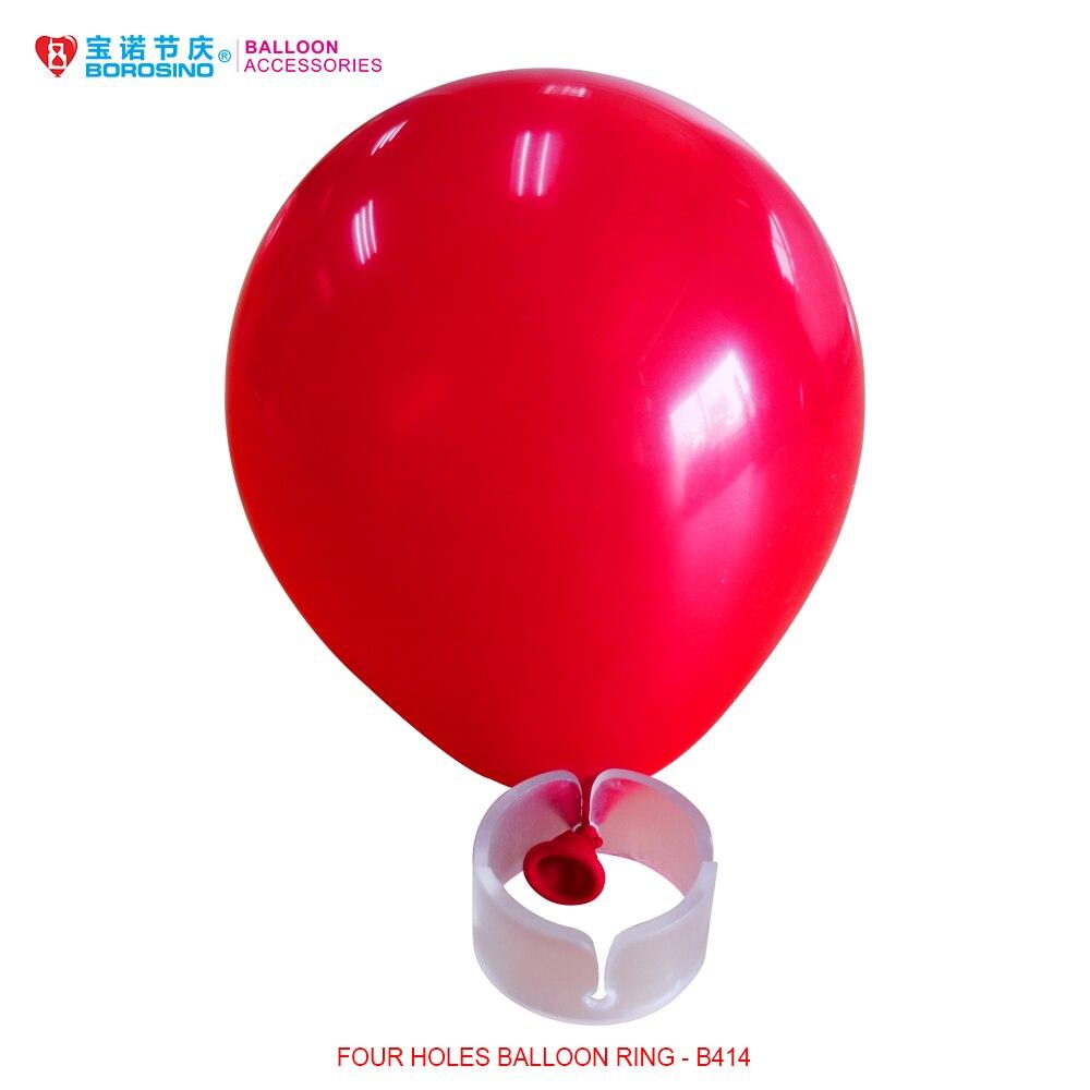 ᐂ100 unids/lote globo anillo para la columna del globo - a507
