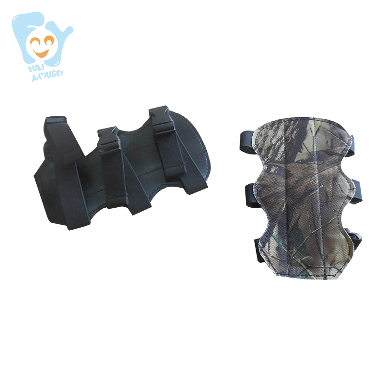 Outdoor Fun Sports Game Archery Tag Accessory Shooting Arm Elow Guard Proect Camouflage Color