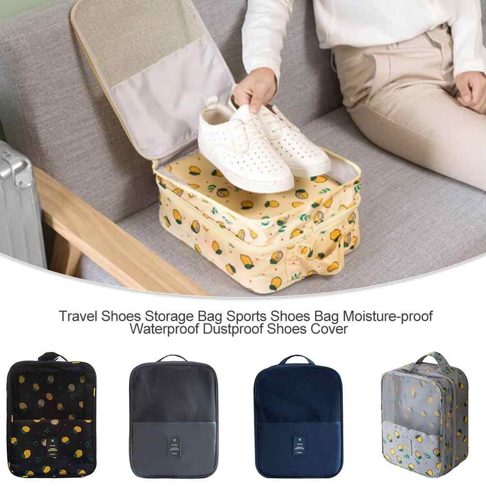 Convenient Travel Storage Bag Double Layer Portable Organizer Bags Shoe Sorting Pouch Multifunction Waterproof Dustproof Cover #