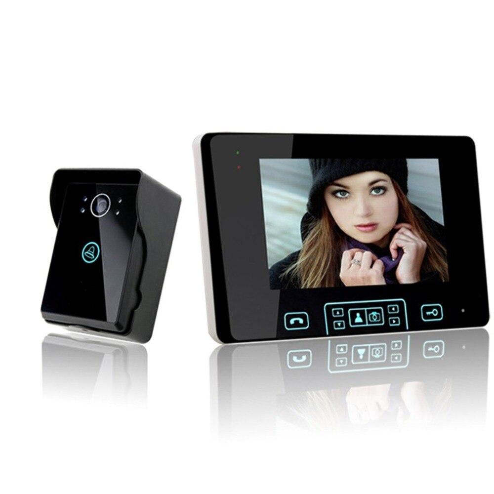 7 inch 2.4GHz Digital Wireless Video Door Phone7 inch 2.4GHz Digital Wireless Video Door Phone