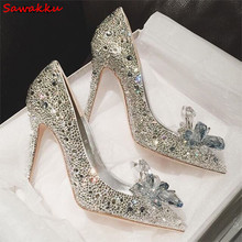 098c866133 Buy clear shoes cinderella and get free shipping on AliExpress.com