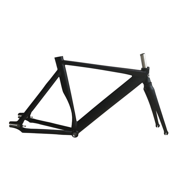 700c fahrradrahmen 53 cm vollcarbonschienenfahrradrahmen glatten schwei fixed gear bike rahmen. Black Bedroom Furniture Sets. Home Design Ideas