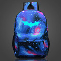 2016 Fashion Batman Luminous Backpack For Teenage Girls Boys School Backpacks Kids Best Gift School Bag Children Backpack
