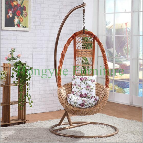 Living Room Natural Rattan Table Chair Hammock Designs(China)